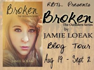 Broken Blog Tour Banner